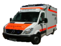 Rettungswagen DRK Rodenberg